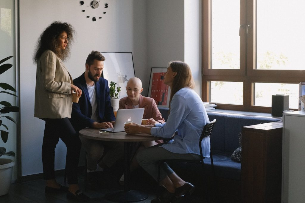 Coaching and development in the workplace